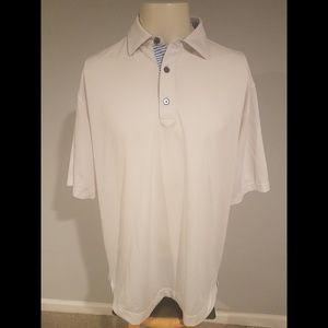 Footjoy Subaru Logo Golf Polo Shirt Size Large